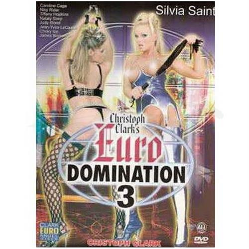DVD XXX Euro Domination 3